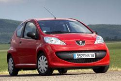 Peugeot 107 cataloguswaarde