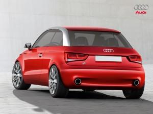 Audi A1 achterkant