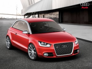 Audi A1 totaalaanzicht