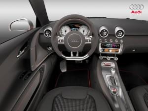 Audi A1 totaal interieur